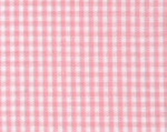 Fabric Finders Pink Gingham Fabric by the Yard, Pink Fabric Yardage, Cotton Fabric Fat Quarters, Checked Fabric