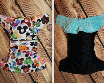 Custom Cloth Diaper - Personalized Cloth Diaper - Cloth Wipes - Diaper Keychain - Children's Pants - Tree of Life Customs