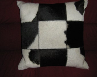 Cow Leather Cushion