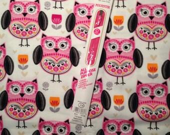 folk owl kids bean bag chair