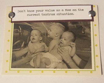 Moms and Tantrums, 2 Card