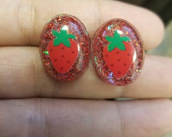 Strawberry Fields Sparkle Earrings
