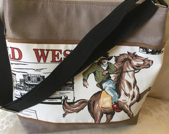 Cowgirl Brown shoulder bag