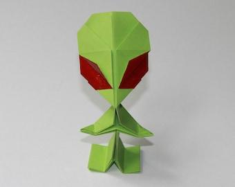 Alien - Origami