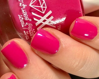 Roxx for Kids - Pink Toumaline - Happiness - Crystal Infused Nail Polish - Non-Toxic - Vegan - Crystal Energy
