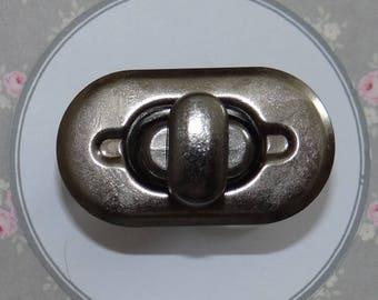 Antique silver purse - Prym 417 883 turnlock