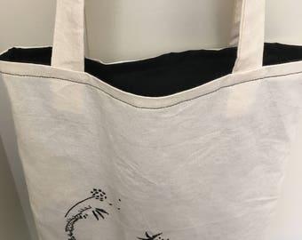 Small tote bag | porthole design