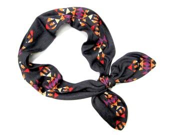 Dolly Bow Headband, Wire Headband, Yoga Headband, Head Wrap, Teen Girl Gift, Tie Up Head Scarf,Twist Headband,Under 20 Dollars,Ready to Ship