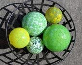 Greens & Yellows, Set of ...