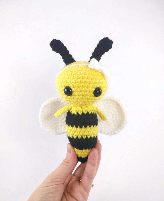 Pattern Phoebee The Bee Crochet Bee Pattern Amigurumi Bee