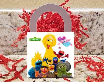 Sesame Street Treat Boxes, Sesame Street Popcorn Boxes, Sesame Street Candy Boxes, Sesame Street Party Boxes