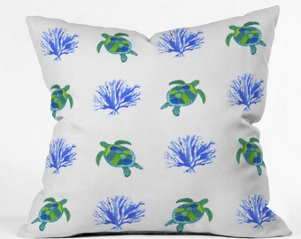 Sea Turtles Indoor Throw Pillow