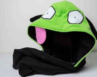 Character Hooded Scarf - GIR