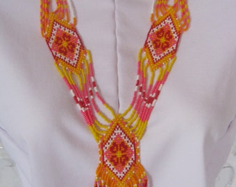 The Summer Flame - Traditional Ukrainian Jewelry