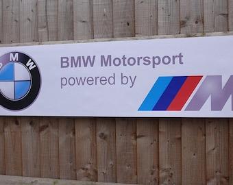 Bmw Motorsport M3 M4 M5 M6 Gt Evo ///M banner flag Limited Editon For Collector