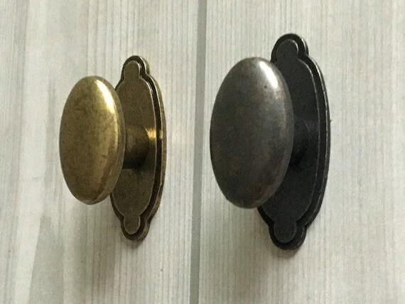 Dresser Knob Drawer Knobs Pulls Handles Back Plate Cabinet