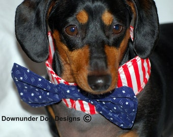 4th of July Bow Tie