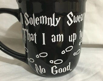 Solemnly Swear Big Coffee Mug