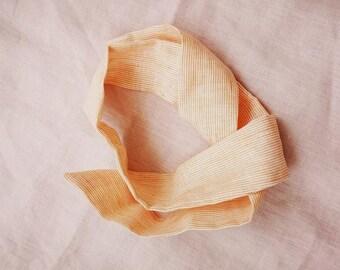 Headband Orange Stripes
