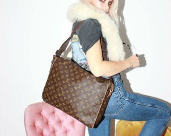 Louis Vuitton Monogram Abbesses Messenger Crossbody Bag