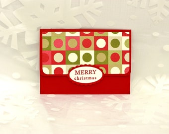 Gift Card Holder, Christmas Gift Card Holder, Mailable Gift Card Holder