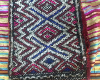Traditional Moroccan Vintage Authentic Cushion Cover Berber