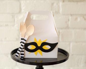 Superhero favor boxes,superhero gift boxes,super hero party decor, birthday favor box,superhero party decor