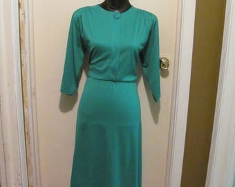 Cute Teal Vintage Dress