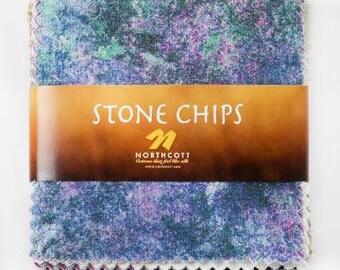Northcott Stone Chips 5 x 5 charm pack - Cstone-10