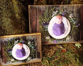 Your Photo Transformed into Rustic wood Art