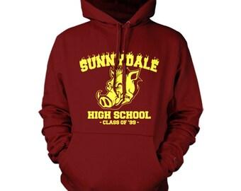 sunnydale buffy hoodie hoody