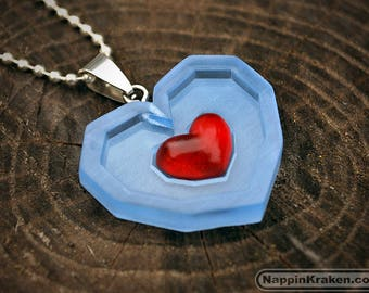 Piece of Heart Pendant Legend of Zelda Ocarina of Time