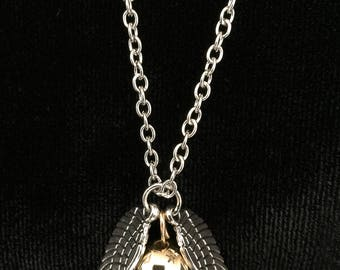 Golden Snitch Necklace, Wizards and Witches, Golden Snitch Necklace X041 Valentines Day, Wedding, Birthday Gift