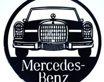 Mercedes-Benz - Vinyl Record Art