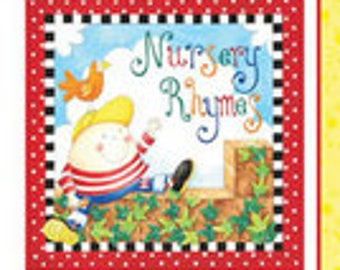 Little Readers Nursery Rhymes SOFT BOOK PANEL by Henry Glass