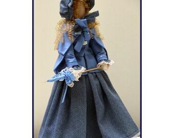 Linda  Victorian Lady Art Doll E-Pattern