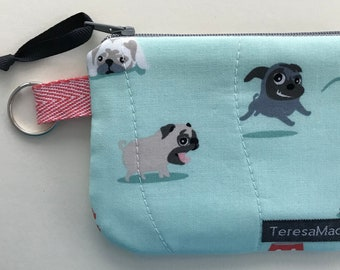 XX-Small Pug Zip Pouch