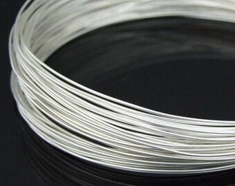 KA-100S thai karen hill tribe handpull silver round wire 10ft. 26gauge dead soft