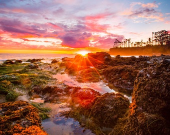 Laguna Beach Tidepools Sunset 2