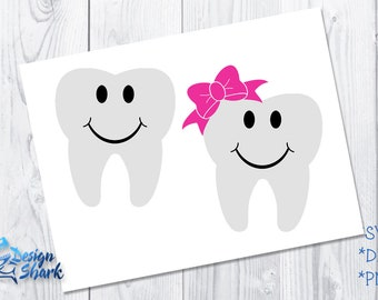 Tooth Fairy Pillow Design SVG/DXF/PNG