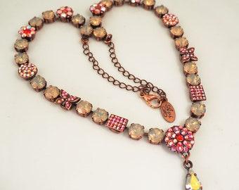 Handmade Swarovski Crystal Necklace