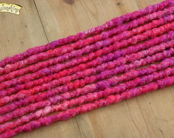 Very Berry SE x10 Crochet Synthetic dreads - pink purple accent