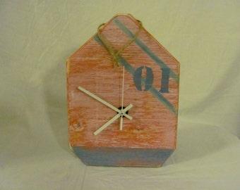 """Nautical """"buoy"""" wall clock"""