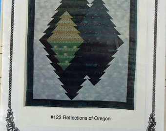 Oregon Treasures Machine Quilted Wallhangings Pattern