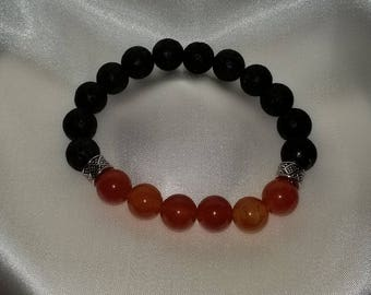 Amber Color Essential Oil Diffuser Bracelet