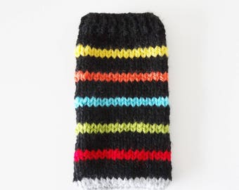 wool for smartphone case / sock / cover for smartphone 65 x 130 mm