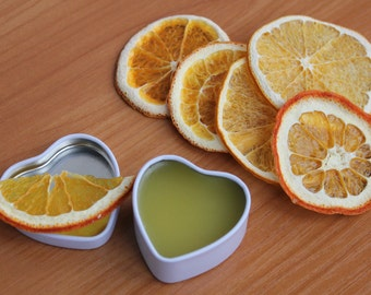 Valentine gift Sweet orange body salve Organic Shea body salve Organic body salve Soothing balm Soothing body balm Organic hand salve