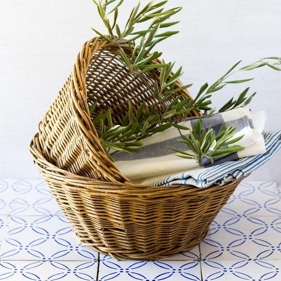 French Nesting Baskets - set of 2
