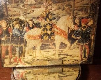 Vintage Italian Florentine, Large hinged box