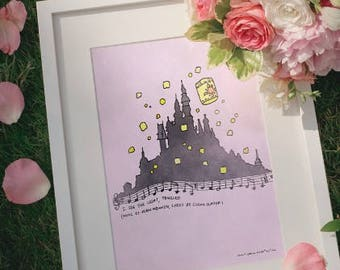 Tangled: I See the Light print